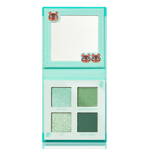 ColourPop X Animal Crossing Shadow Palette Nook, Inc, 3.32g