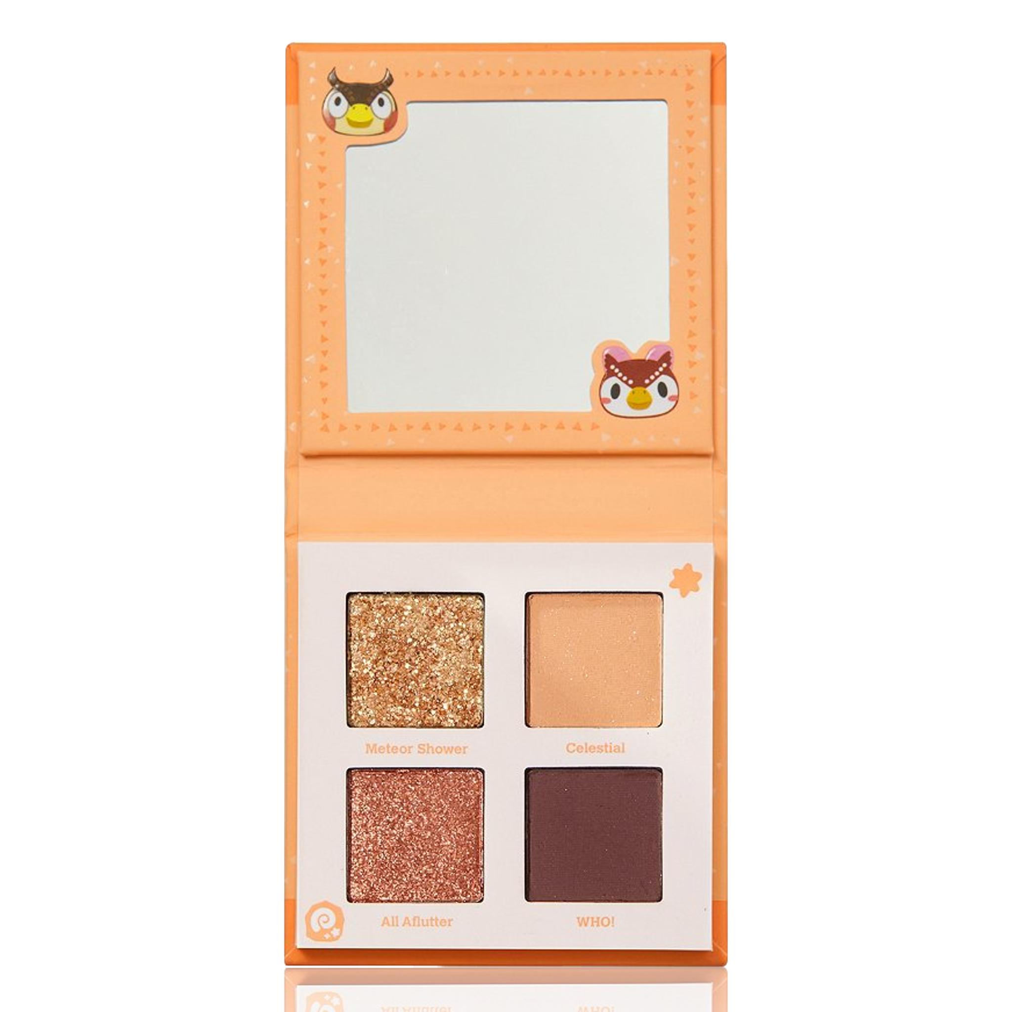 ColourPop X Animal Crossing Shadow Palette What a Hoot, 3.32g
