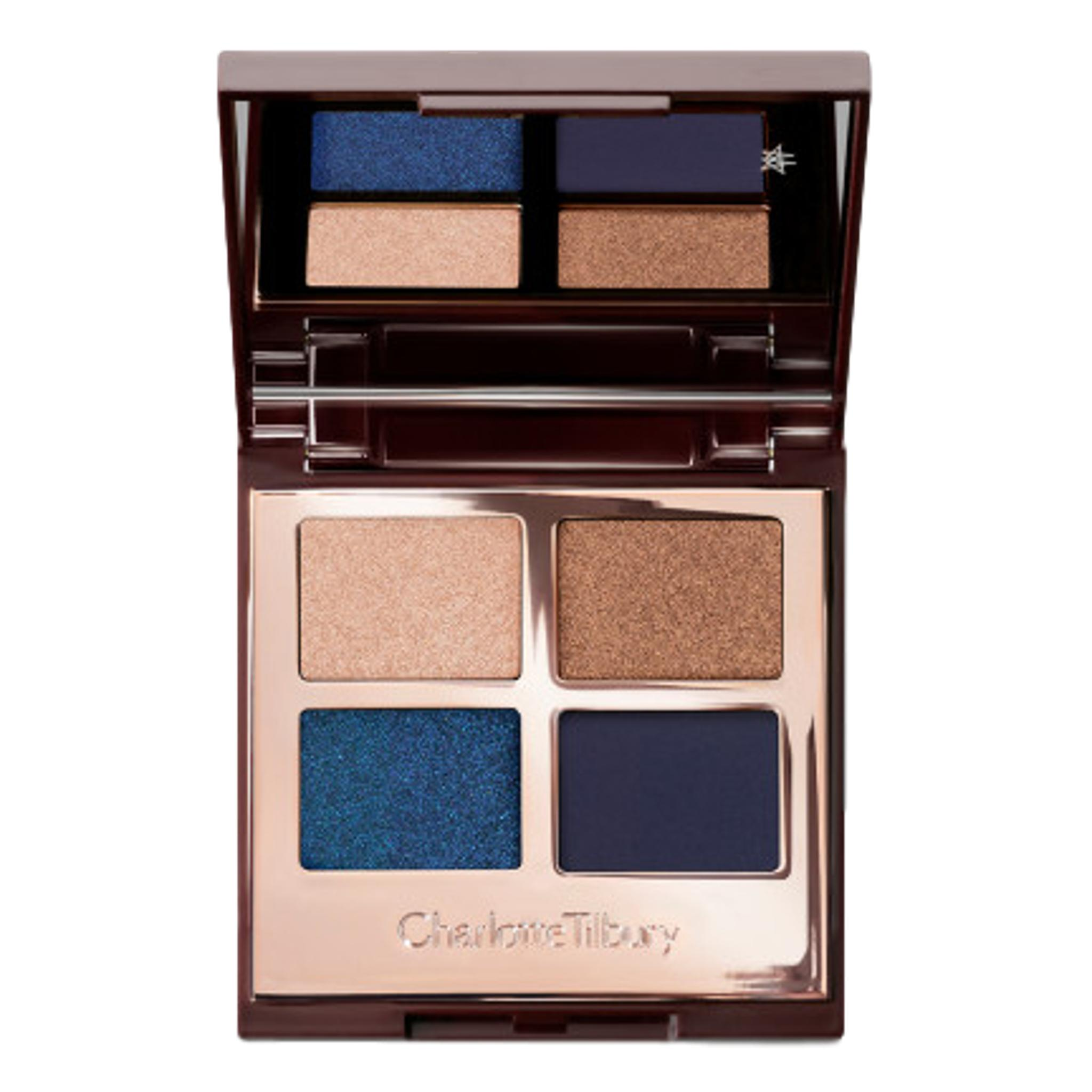 Charlotte Tilbury Luxury Eyeshadow Palette - Super Blue, eyeshadow palette, London Loves Beauty