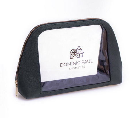 Dominic Paul Cosmetics Travel Makeup Bag