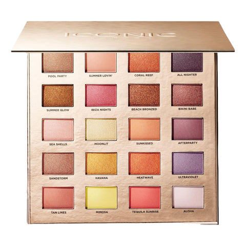 Iconic London Sunset To Sunrise Eyeshadow palette, eyeshadow palette, London Loves Beauty