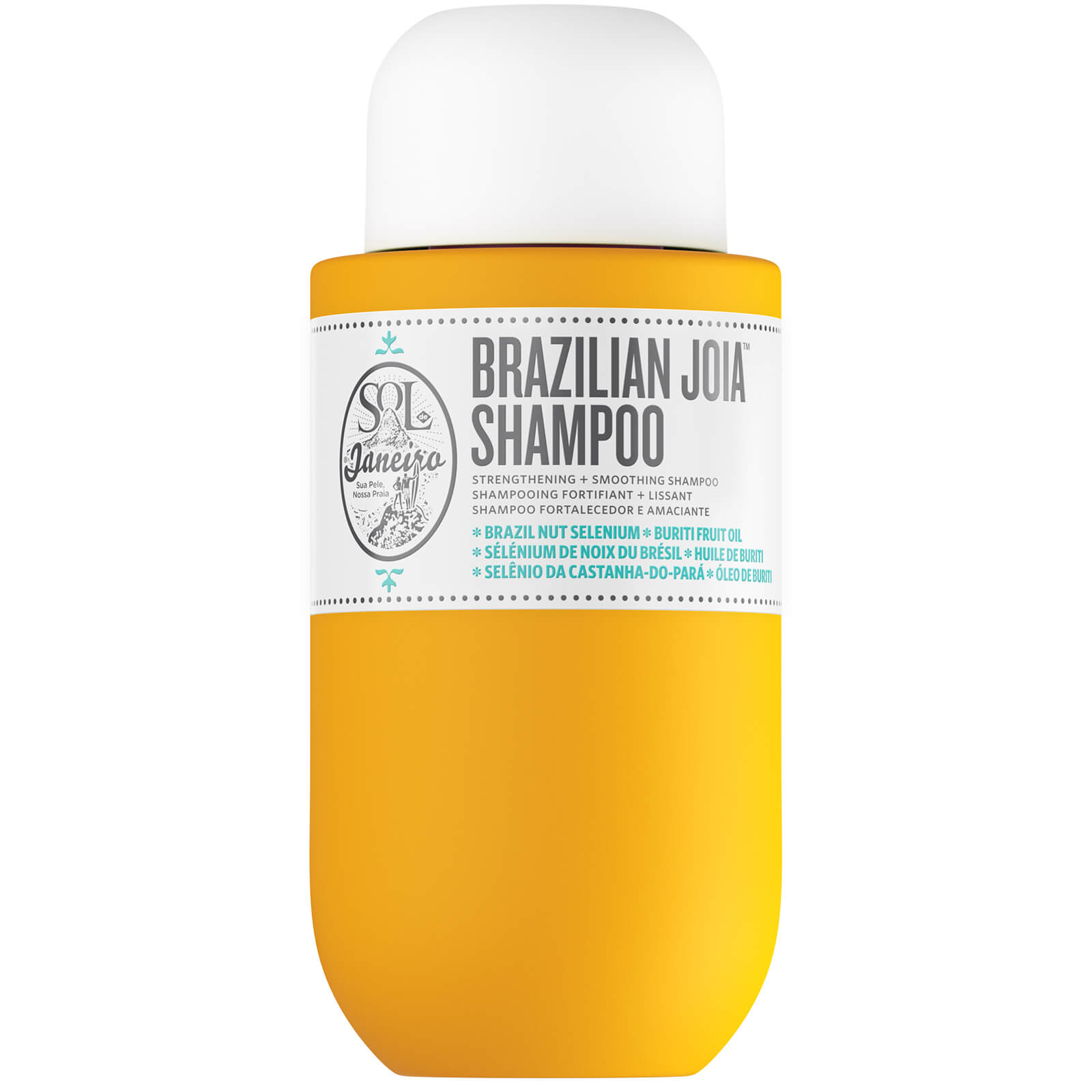 SOL DE JANEIRO Brazilian Joia Strengthening & Smoothing Shampoo 90mL, Hair Care, London Loves Beauty