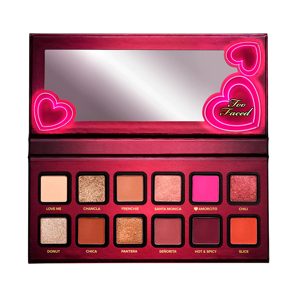 TOO FACED Amor Caliente Eyeshadow & Cheek Palette - Limited Edition