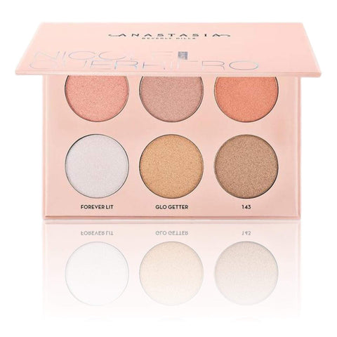 ANASTASIA BEVERLY HILLS Nicole Guerriero Glow Kit, highlighter, London Loves Beauty