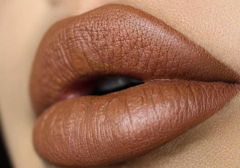 Atomic Makeup Silky Matte Lipstick - Whiskey Brown, lipstick, London Loves Beauty
