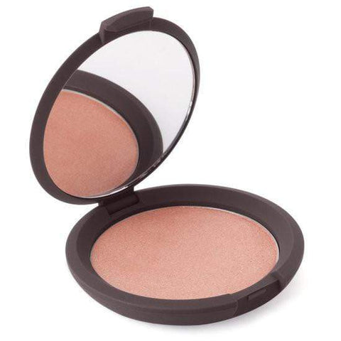 Becca Shimmering Skin Perfector Pressed - Rose Gold, highlighter, London Loves Beauty