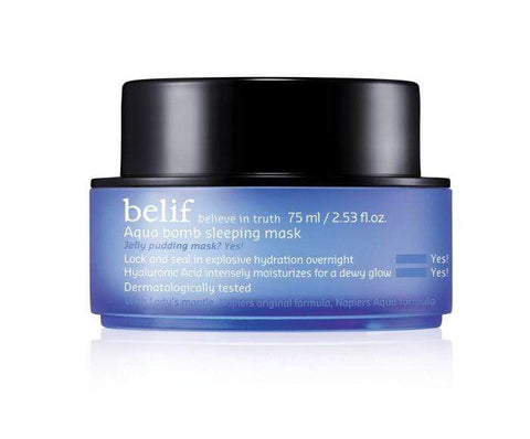 Belif Face Masks Belif Aqua Bomb Sleeping Mask, 75ml