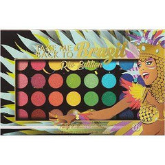 BH Cosmetics eyeshadow palette BH COSMETICS Take Me Back To Brazil: Rio Edition - 35 Color Shadow Palette