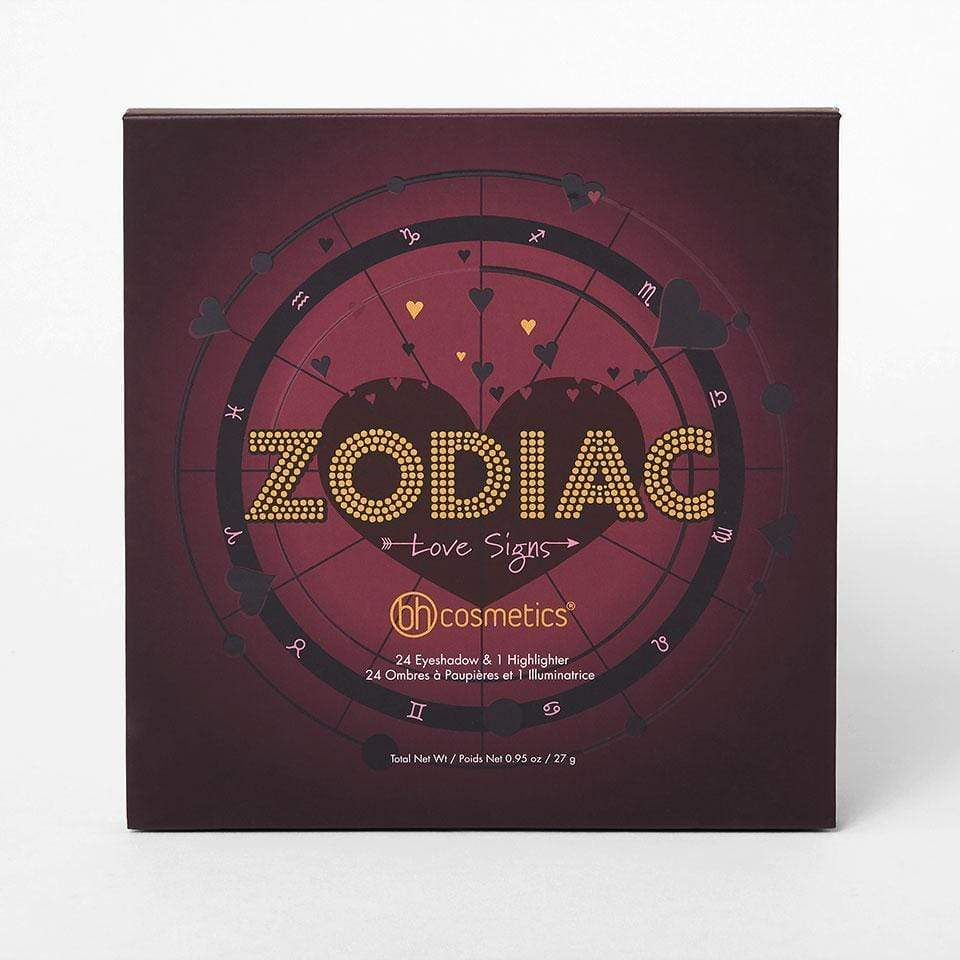 BH Cosmetics eyeshadow palette BH COSMETICS Zodiac Love Signs 25 Color Eyeshadow and Highlighter Palette