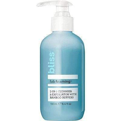 BLISS Fab Foaming 2-In-1 Cleanser 6.4oz, cleanser, London Loves Beauty