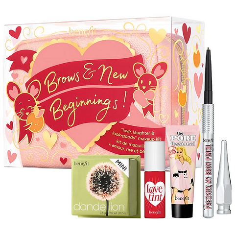 BENEFIT Brows & New Beginnings Makeup Kit - Limited Edition