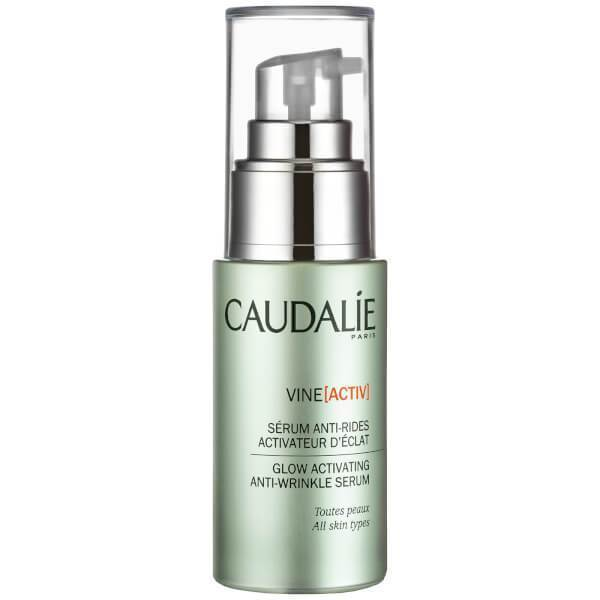 Caudalie VineActiv Glow Activating Anti-wrinkle Serum, 30ml, Serums, London Loves Beauty
