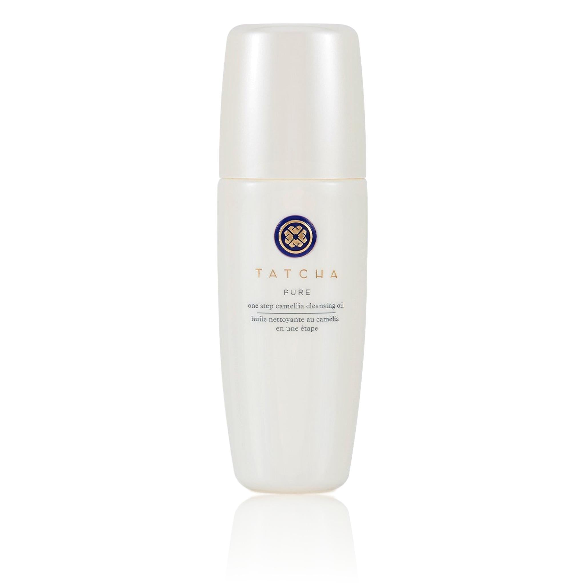 TATCHA Pure One Step Camellia Cleansing Oil - Gratitude Size - Limited Edition (10.0 oz | 300ml), Skin Care, London Loves Beauty
