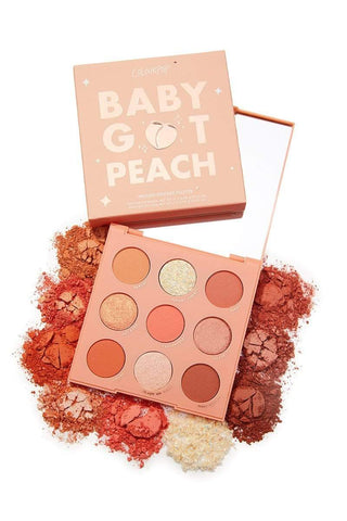 Colourpop eyeshadow palette COLOURPOP Baby Got Peach Shadow Palette