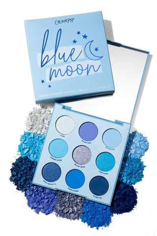 Colourpop eyeshadow palette COLOURPOP Blue Moon Shadow Palette