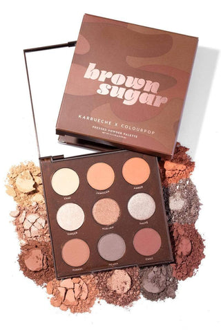 Colourpop eyeshadow palette COLOURPOP Brown Sugar Shadow Palette