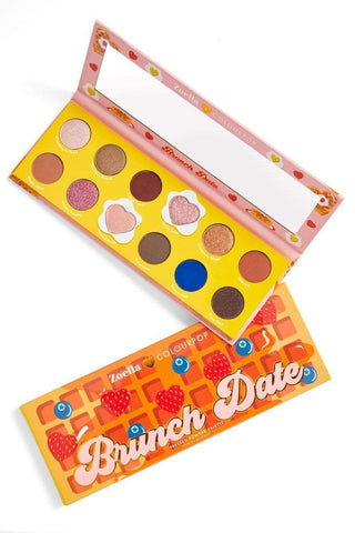 COLOURPOP Brunch Date Pressed Powder Shadow Palette, eyeshadow palette, London Loves Beauty