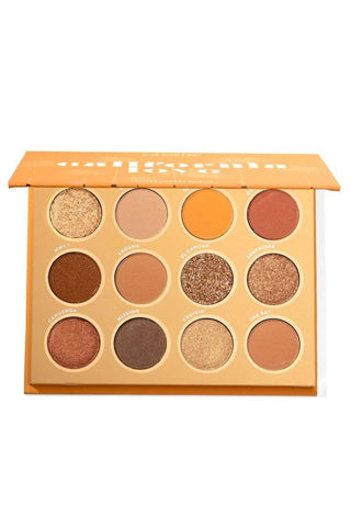 COLOURPOP California Love Pressed Powder Shadow Palette, eyeshadow palette, London Loves Beauty