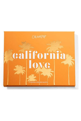 Colourpop eyeshadow palette COLOURPOP California Love Pressed Powder Shadow Palette