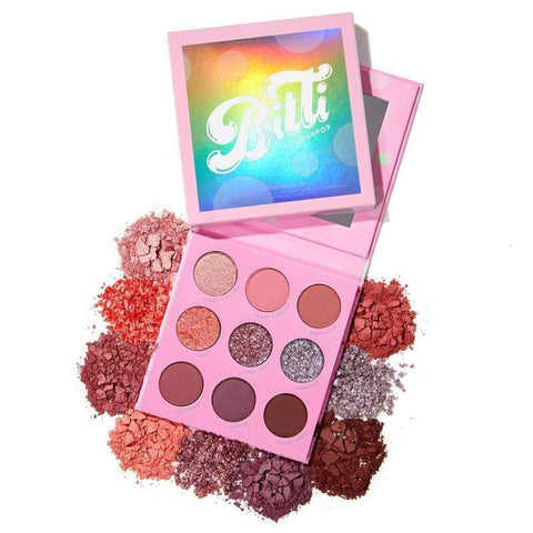 Colourpop eyeshadow palette COLOURPOP Candy Button Shadow Palette