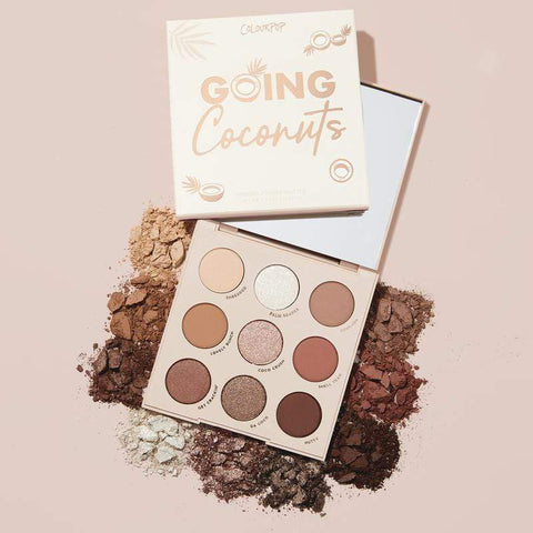 Colourpop eyeshadow palette COLOURPOP Going Coconuts Shadow Palette