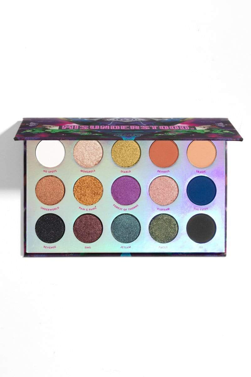 Colourpop eyeshadow palette COLOURPOP Misunderstood Pressed Powder Shadow Palette