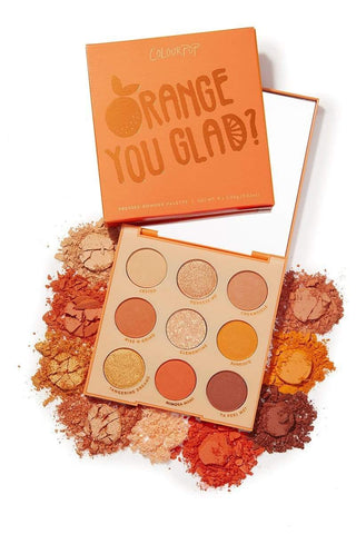 Colourpop eyeshadow palette COLOURPOP Orange You Glad? Pressed Powder Shadow Palette
