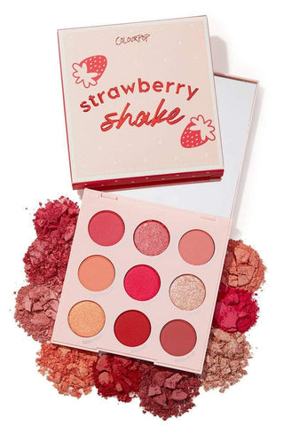 Colourpop eyeshadow palette COLOURPOP Strawberry Shake Shadow Palette