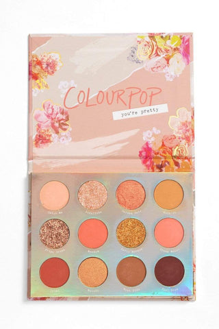 Colourpop eyeshadow palette COLOURPOP Sweet Talk Pressed Powder Shadow Palette