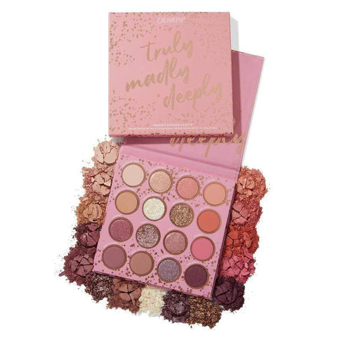 Colourpop eyeshadow palette COLOURPOP Truly Madly Deeply Shadow Palette