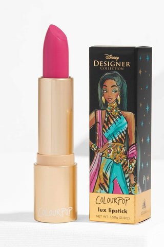 Colourpop Disney Collection Crème Lux Lipstick - Jasmine - Limited Edition, 0.12oz, Lipstick, London Loves Beauty