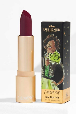 Colourpop Disney Collection Crème Lux Lipstick - Tiana - Limited Edition, 0.12oz, Lipstick, London Loves Beauty