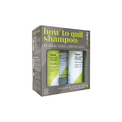 DevaCurl Hair Care DevaCurl How To Quit Shampoo: The Original Cleanse & Condition Curl Kit