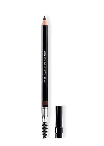 Dior Powder Eyebrow Pencil With Brush And Shaperener - 693 Dark Brown, eyebrow pencil, London Loves Beauty