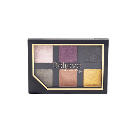 BELIEVE BEAUTY Golden Disco Eyeshadow Palette