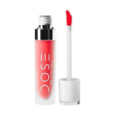 Dose Of Colors Matte Lipstick - Coral Crush, 4.5ml, liquid lipstick, London Loves Beauty
