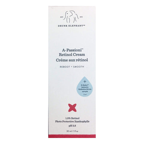DRUNK ELEPHANT A-Passioni™ Retinol Cream 30ml + free sample, Face Cream, London Loves Beauty