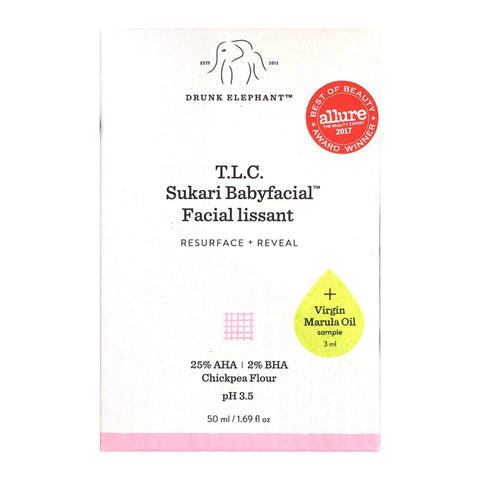 DRUNK ELEPHANT T.L.C. Sukari Babyfacial™ 50mL + free sample, Face Masks, London Loves Beauty