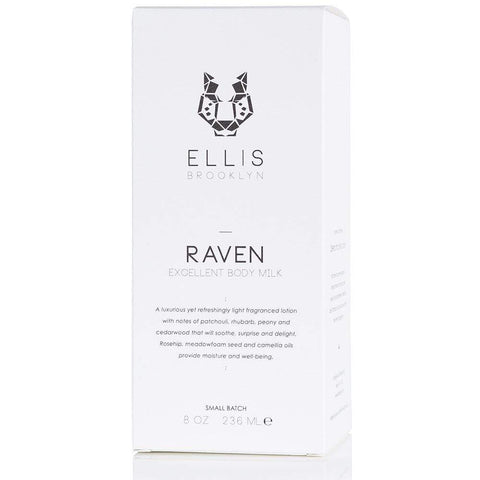 ELLIS BROOKLYN Raven Excellent Body Milk 8 oz/ 236 mL, Body Milk, London Loves Beauty