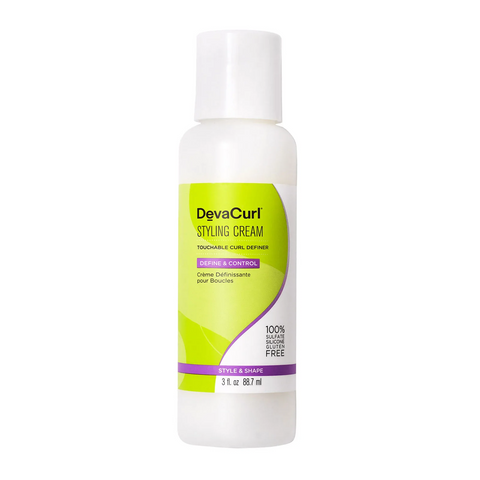 DevaCurl Styling Cream, 8.7ml, Hair Care, London Loves Beauty