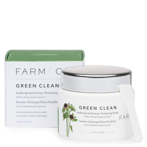 Farmacy Green Clean Make Up Meltaway Cleansing Balm, 90ml, Cleansing Balm, London Loves Beauty