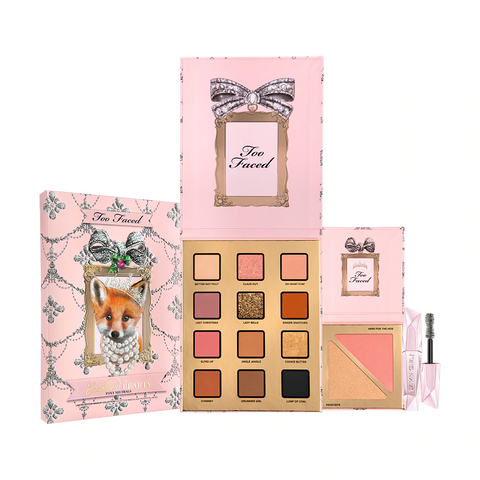 TOO FACED Enchanted Beauty Foxy Neutrals Makeup Set - Limited Edition