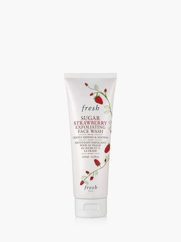 Fresh Exfoliator Fresh Sugar Strawberry Exfoliating Face Wash, 125ml