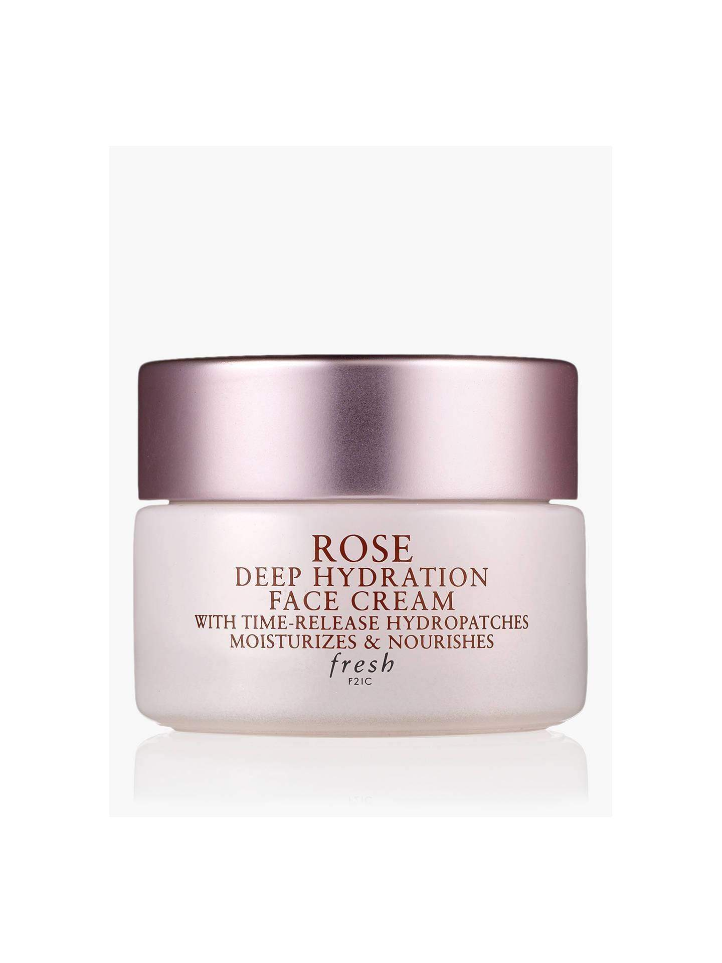 Fresh Face Masks Fresh Rose Deep Hydration Face Cream, 15ml
