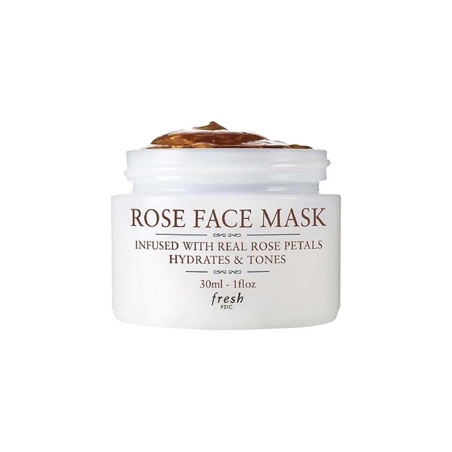 Fresh Rose Face Mask To Go, 30ml, Face Masks, London Loves Beauty