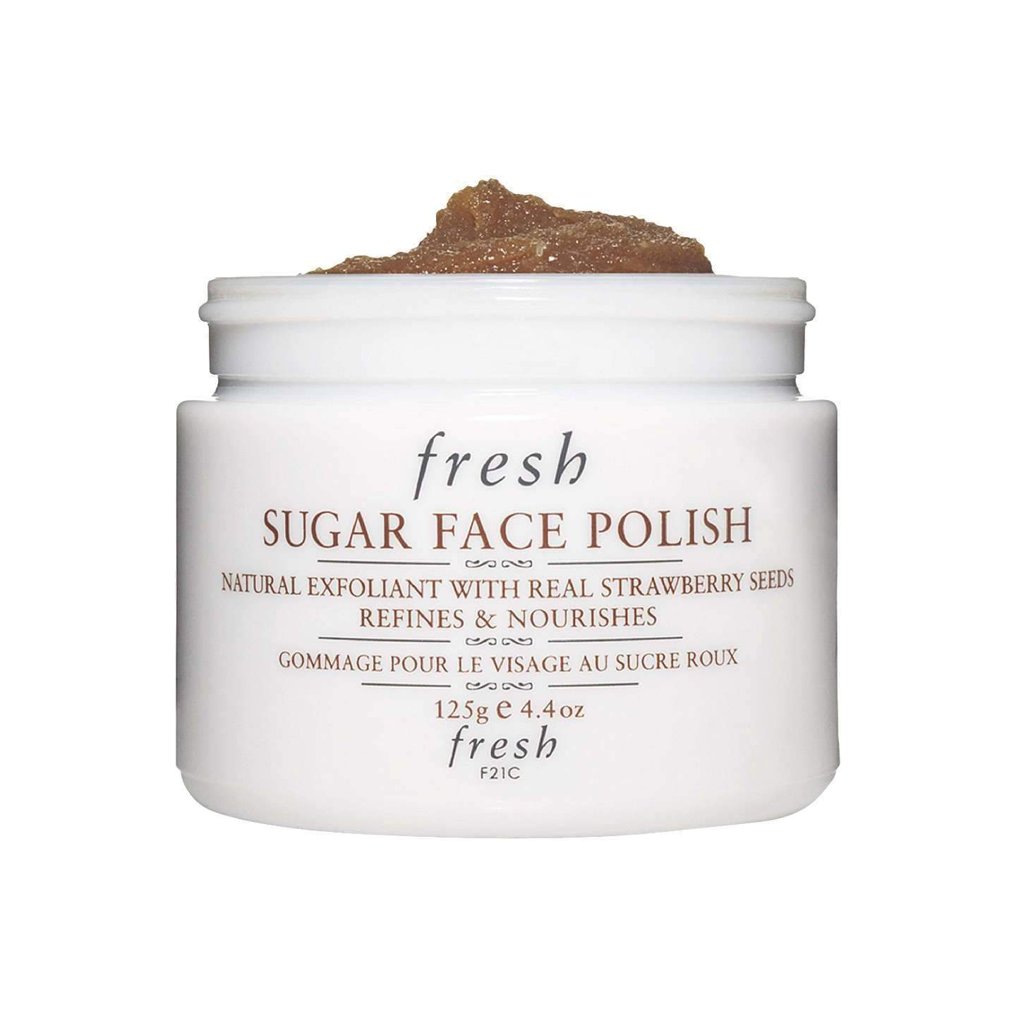 Fresh Sugar Face Polish, 125g, Skin Care, London Loves Beauty