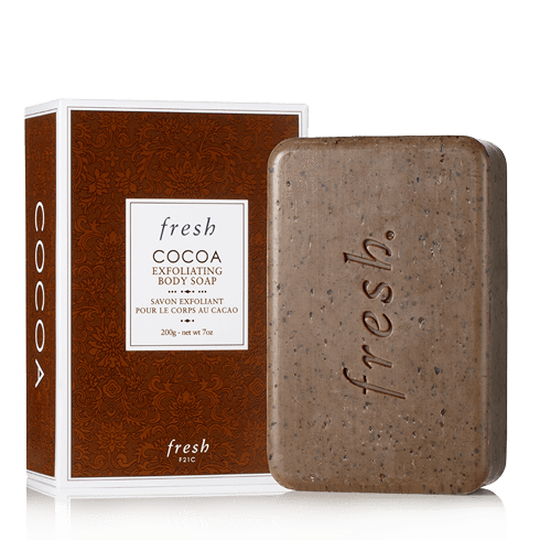 Fresh Cocoa Exfoliating Body Soap, Soap, London Loves Beauty