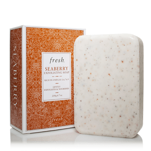 Fresh Seaberry Exfoliating Soap, Soap, London Loves Beauty
