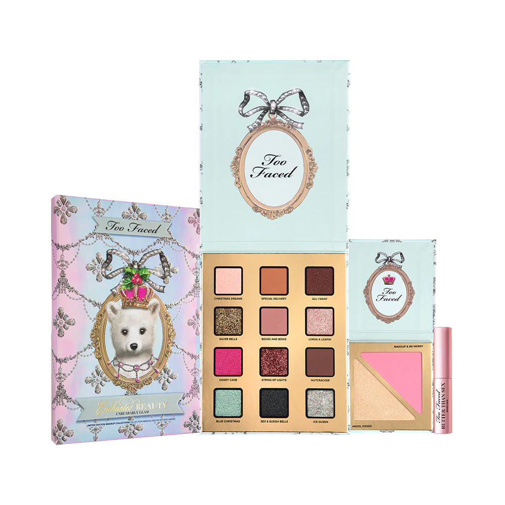 TOO FACED Enchanted Beauty Unbearably Glam Makeup Set - Limited Edition, Gift Sets, London Loves Beauty