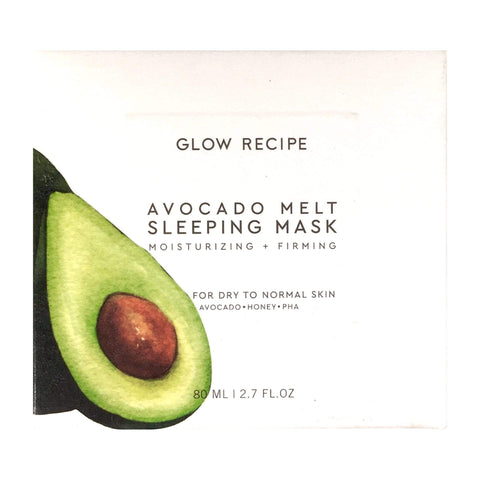 Glow Recipe Face Masks GLOW RECIPE Avocado Melt Sleeping Mask, 80mL